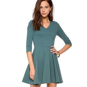 DVF Jeannie V Neck Dress